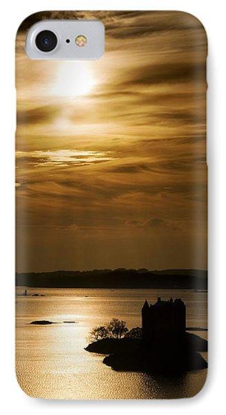 Castle Stalker At Sunset, Loch Laich IPhone Case