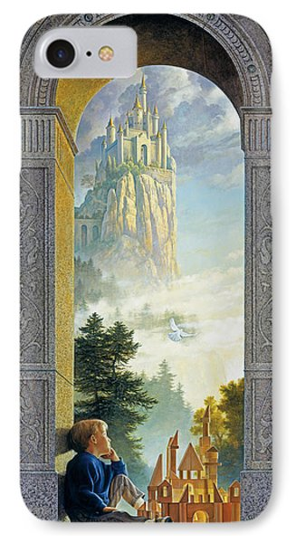 Castle iPhone 8 Case - Castles In The Sky by Greg Olsen