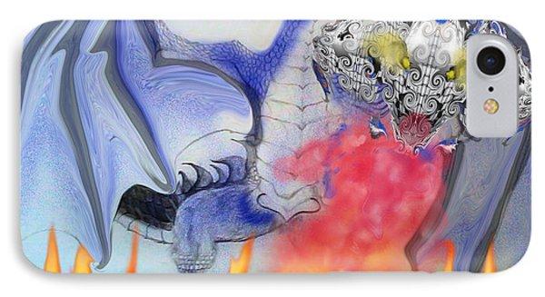 Cat Dragon IPhone Case