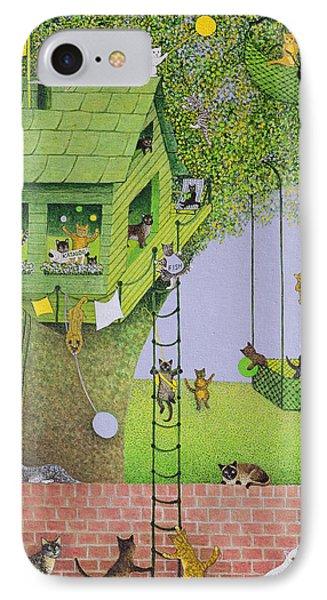 Cat Tree House IPhone Case