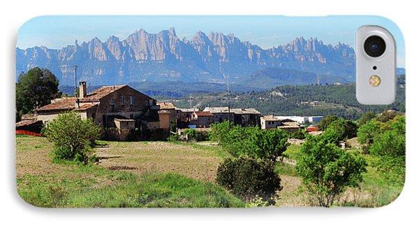 Catalan Landscape In Spring IPhone Case