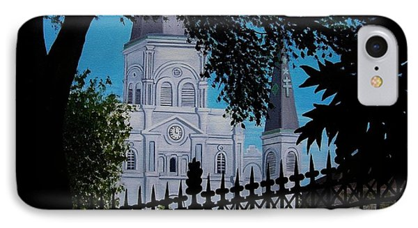 Cathedral At The Square IPhone Case