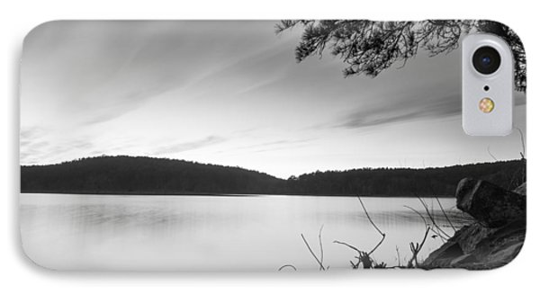 Cedar Lake Bw 2 IPhone Case