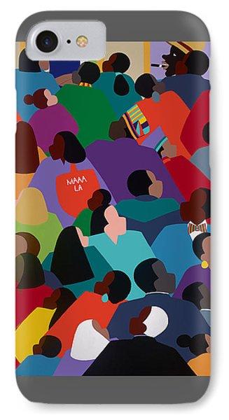 iPhone 8 Case - Celebration Maaa-la by Synthia SAINT JAMES