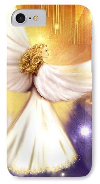 Celestial Angel IPhone Case