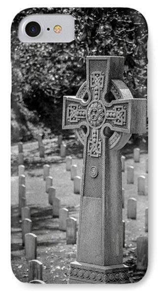 Celtic Grave IPhone Case