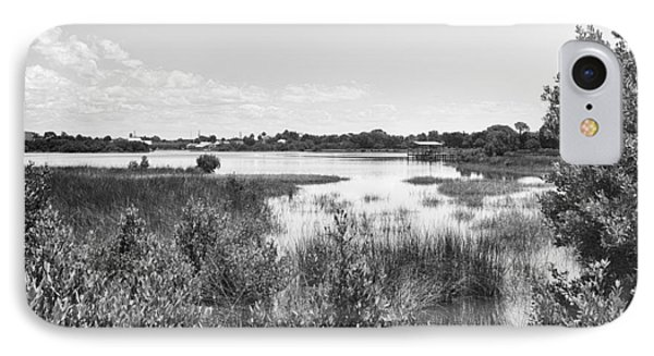 IPhone Case featuring the photograph Cemetary Point Boardwalk by Howard Salmon