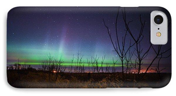 Central Minnesota Aurora IPhone Case