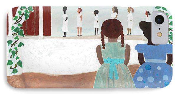 Africa iPhone 8 Case - Ceremony In Sisterhood by Kafia Haile
