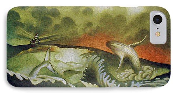 Cetacean Sunset IPhone Case