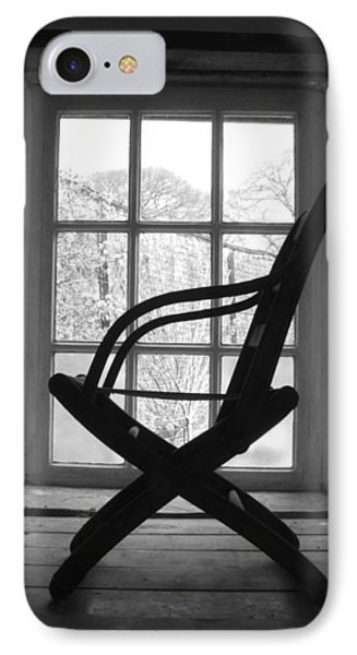 Chair Silhouette IPhone Case