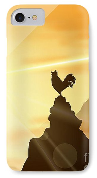 Challenge The Sun IPhone Case