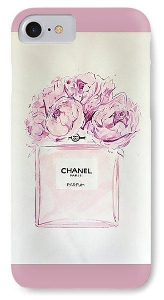 Chanel Peonies IPhone Case
