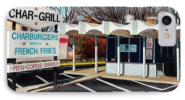 Char Grill Hillsborough St IPhone Case