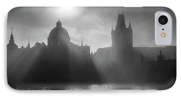 Charles Bridge Towers, Prague, Czech Republic IPhone Case