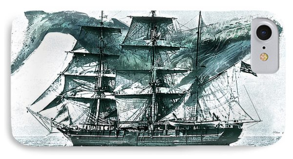 Charles W. Morgan, Whaling Ship, 1841 IPhone Case