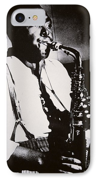 Saxophone iPhone 8 Case - Charlie Parker by American School