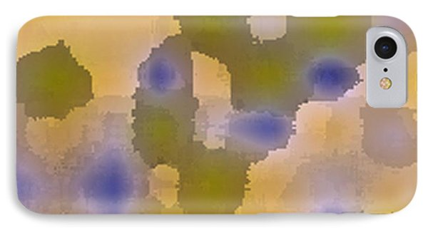Chartreuse Two  By Rjfxx. Original Abstract Art Painting. IPhone Case