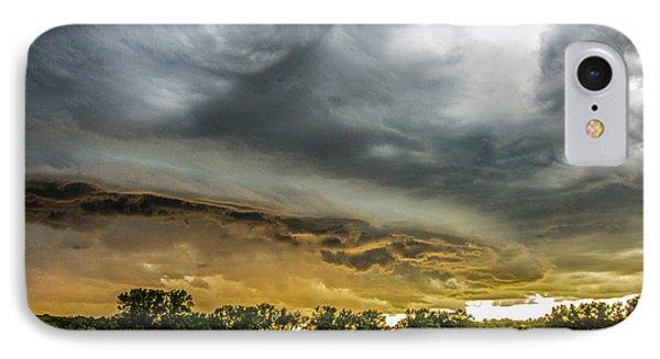 Chasing Nebraska Stormscapes 074 IPhone Case