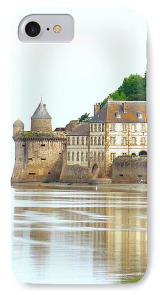 Chateau On Mont St-michel IPhone Case