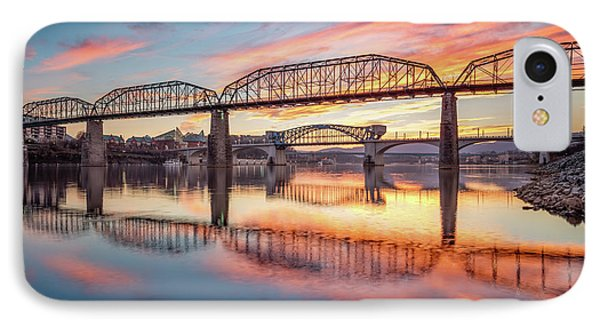 Chattanooga Sunset 5 IPhone Case
