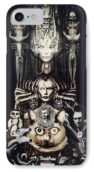 Checker Demon IPhone Case