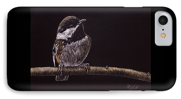 Chestnut Backed Chickadee IPhone Case