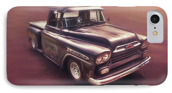 Truck iPhone 8 Case - Chevrolet Apache Pickup by Scott Norris