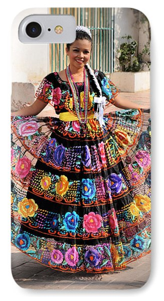 Chiapaneca Dress IPhone Case