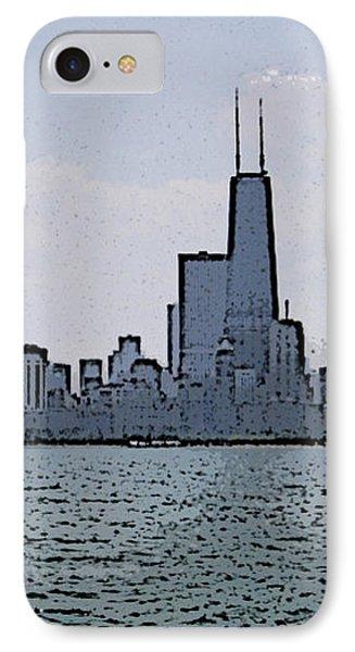 Chicago Across Lake Michigan IPhone Case