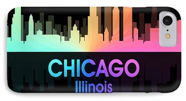 Chicago Il 5 Squared IPhone Case