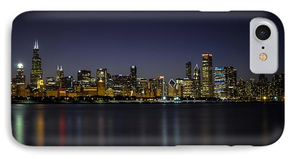 Chicago In Blue IPhone Case