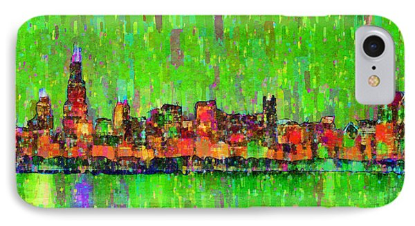Chicago Skyline 206 - Pa IPhone Case