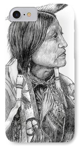 Chief Joseph Of Nes Perce IPhone Case