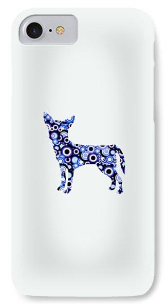 Chihuahua - Animal Art IPhone Case