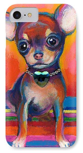 Chihuahua Dog Portrait IPhone Case