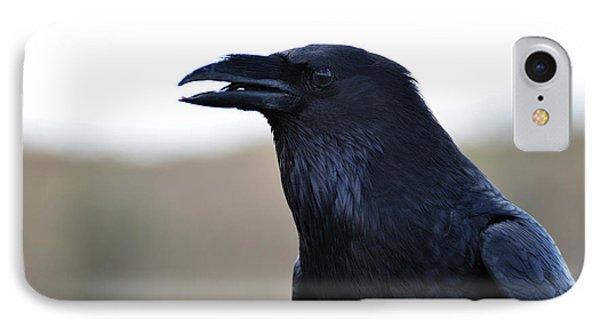 Chihuahua Raven Profile IPhone Case