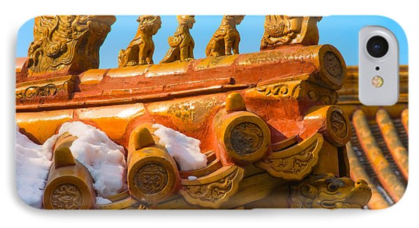 China Forbidden City Roof Decoration IPhone Case