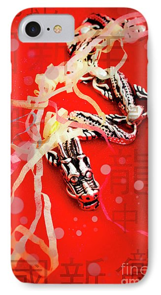 Dragon iPhone 8 Case - Chinese New Year Background by Jorgo Photography - Wall Art Gallery