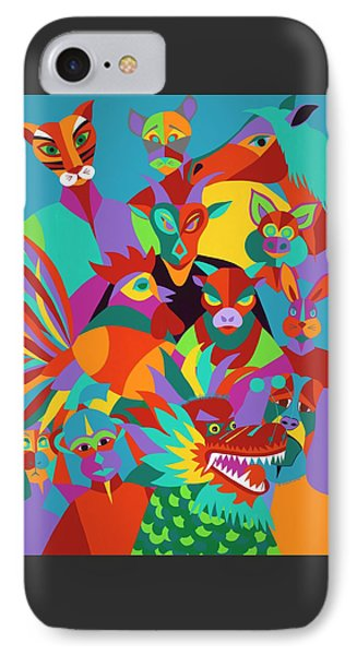iPhone 8 Case - Chinese New Year by Synthia SAINT JAMES