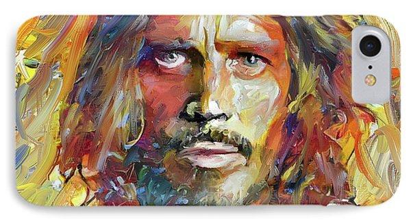 Tribute iPhone 8 Case - Chris Cornell Tribute 2017 Portrait by Yury Malkov