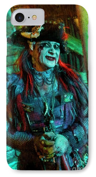 Christine Campiotti And Hunted House IPhone Case