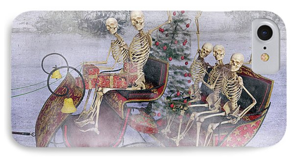 Christmas Spirits Heading To Topsail Island Nc IPhone Case