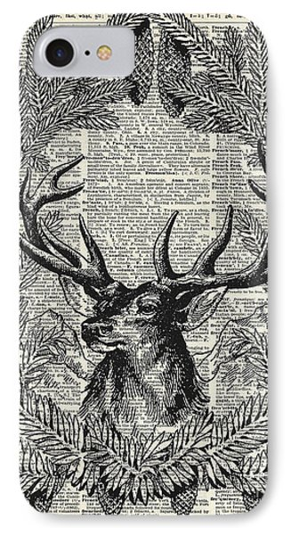 Christmas Stag IPhone Case