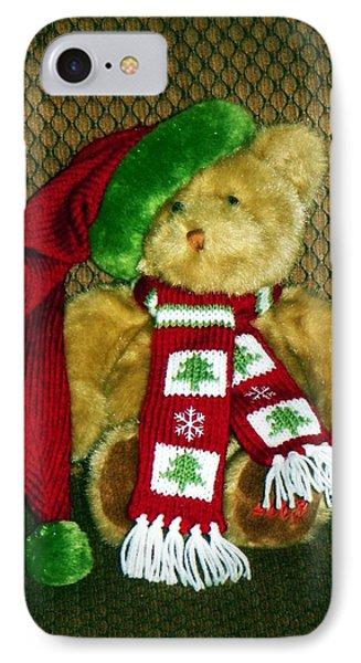 Christmas Teddy Bear IPhone Case