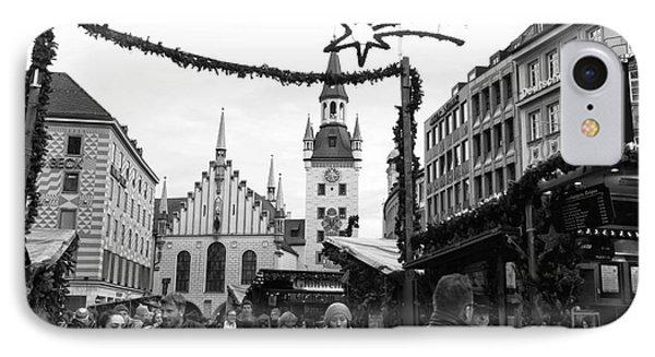 Christmas Walk In Munich IPhone Case
