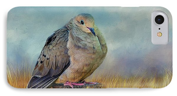 Chubby Dove IPhone Case