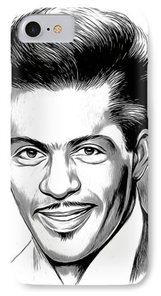 Rock And Roll iPhone 8 Case - Chuck Berry 2 by Greg Joens