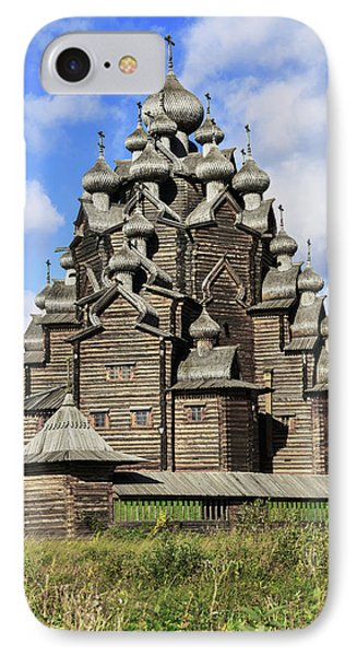 Church Of The Intercession Of The Blessed Virgin Mary, A Unique Monument Of Church Architecture Of A IPhone Case