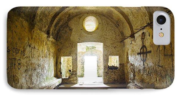 Dungeon iPhone 8 Case - Church Ruin by Carlos Caetano